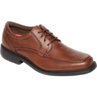 Rockport Men's Style Leader 2 Apron Toe Truffle Tan Full Grain Leather