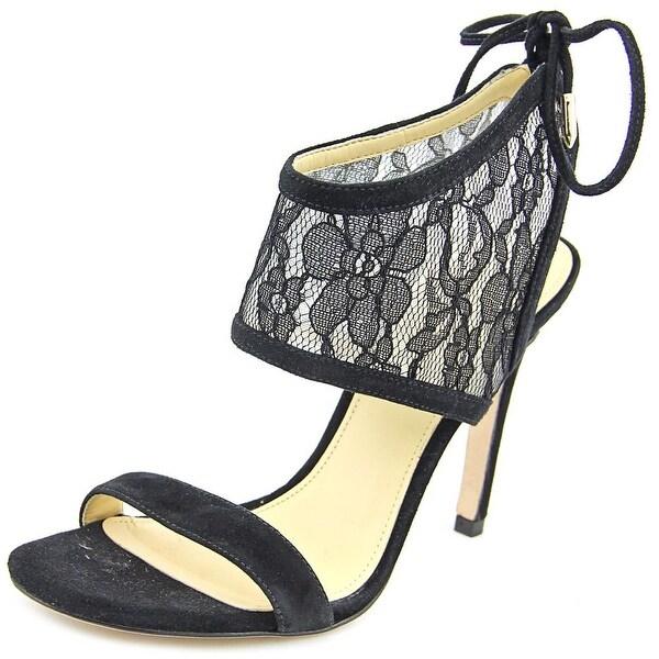 Ivanka Trump Daza Women Black Multi Sandals