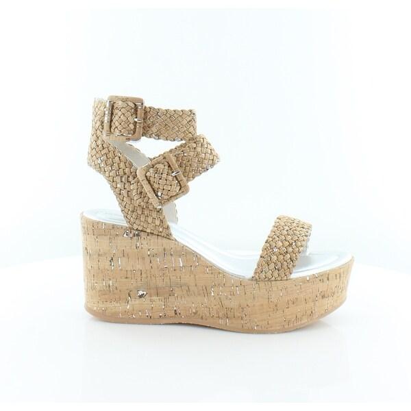 Donald J Pliner Cyndi Women's Sandals & Flip Flops Natural/Silver - 9.5