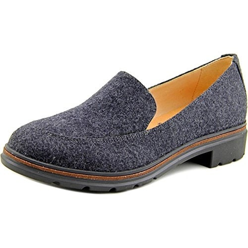 Dr. Scholl's Womens Hollie Wool Closed Toe Loafers - 6.5