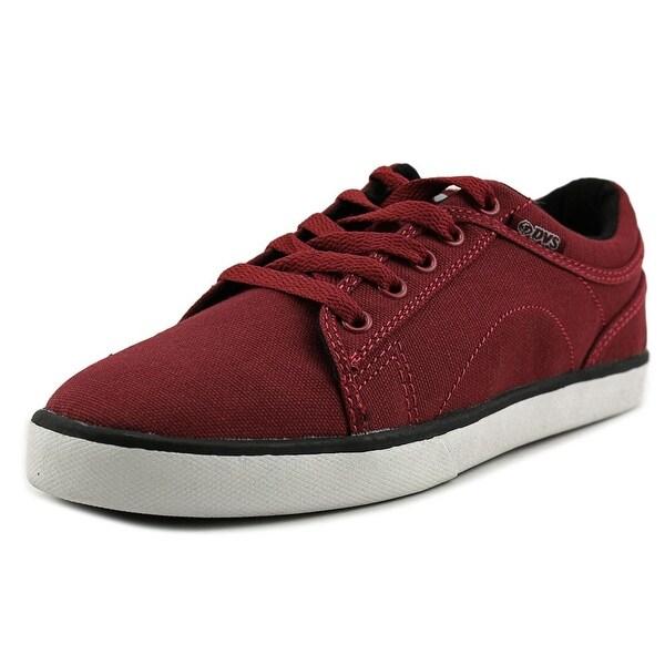 DVS Aversa CTX Youth Round Toe Canvas Red Skate Shoe