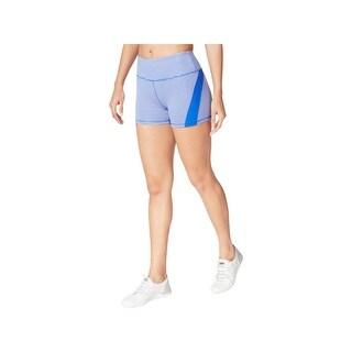 Calvin Klein Performance Womens Storm Shorts High Rise Yoga