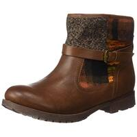 ROCK & CANDY Womens Talita Closed Toe Ankle Fashion Boots