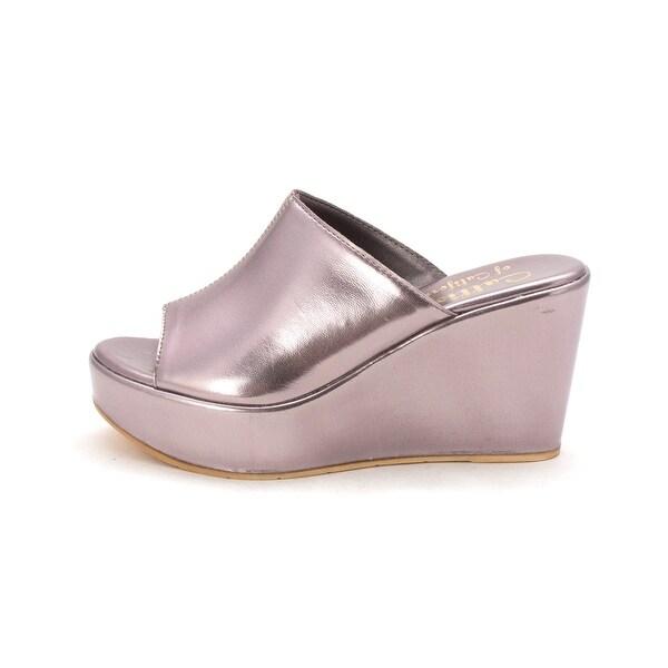 Callisto Womens Maeve Open Toe Casual Platform Sandals