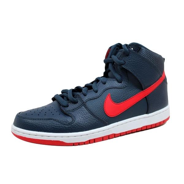 Nike Men's Dunk High Pro SB Squadron Blue/University Red-White 305050-463