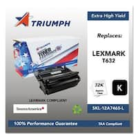 Triumph Remanufactured T632 Toner Cartridge - Black Toner Catridge