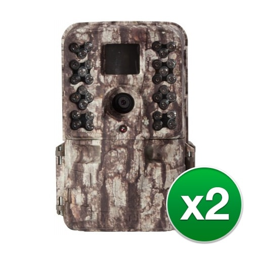 Moultrie MCG-13181 M40 Game Camera with Long Range Nighttime Infrared 32-LED Flash - (2-Pack)