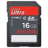SanDisk SDSDU2-016G-AC11 16 GB Ultra SDHC Memory Card - Class 10 (Refurbished)