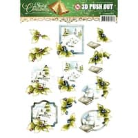 Find It Trading Precious Marieke Punchout Sheet-Spirit Of Christmas