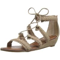 Carlos by Carlos Santana Womens Kenzie Leather Open Toe Casual Strappy Sandals