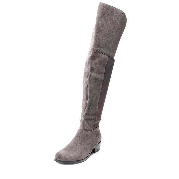 Charles By Charles David Giza Women Round Toe Suede Over the Knee Boot