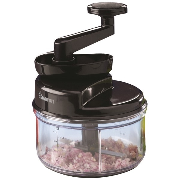Starfrit 93900-002-Blck Manual Food Processor