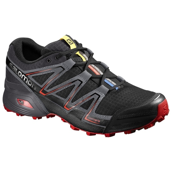 Salomon Men's Speedcross Vario, Black/Magnet/Fiery Red