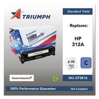 Triumph Remanufactured 312A Toner Cartridge - Cyan Toner Cartridge