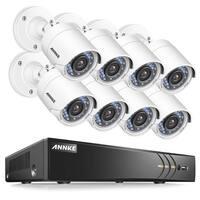 ANNKE 8CH 1080P HD Security Surveillance IR Night Vision Cameras System
