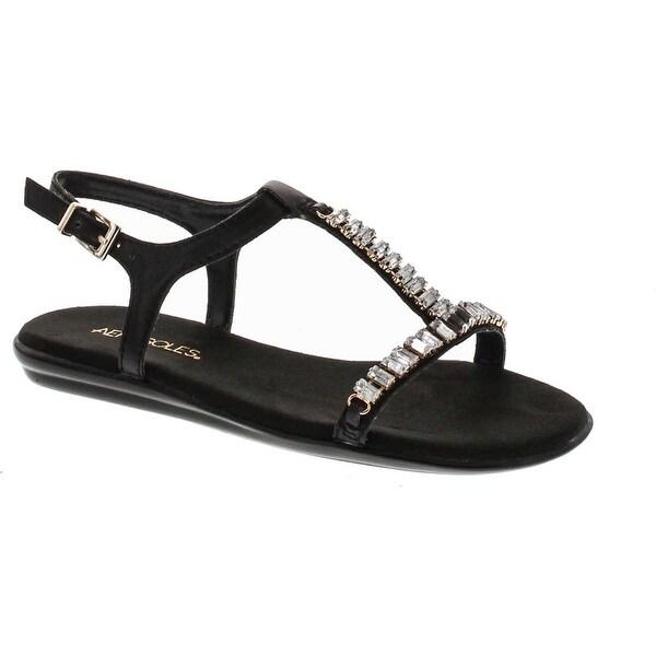 Aerosoles Women's Chronichle Flat Sandal - Black