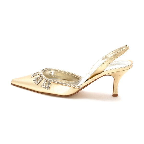 Caparros Womens Valuable Pointed Toe SlingBack Classic Pumps - 10