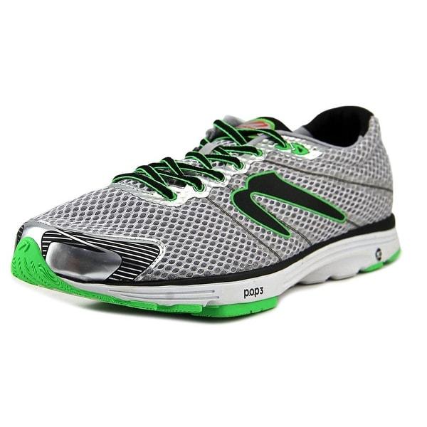 Newton Aha II Men Round Toe Synthetic Gray Running Shoe