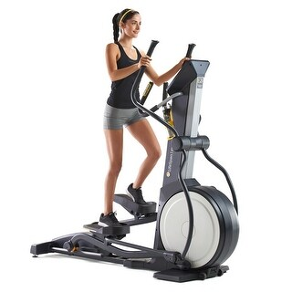 LifeSpan Fitness e2i magnetic Elliptical trainer exercise machine - Black