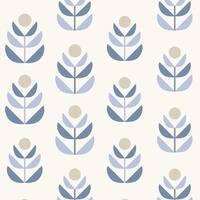 Brewster 2535-20617 Oslo Blue Geometric Tulip Wallpaper