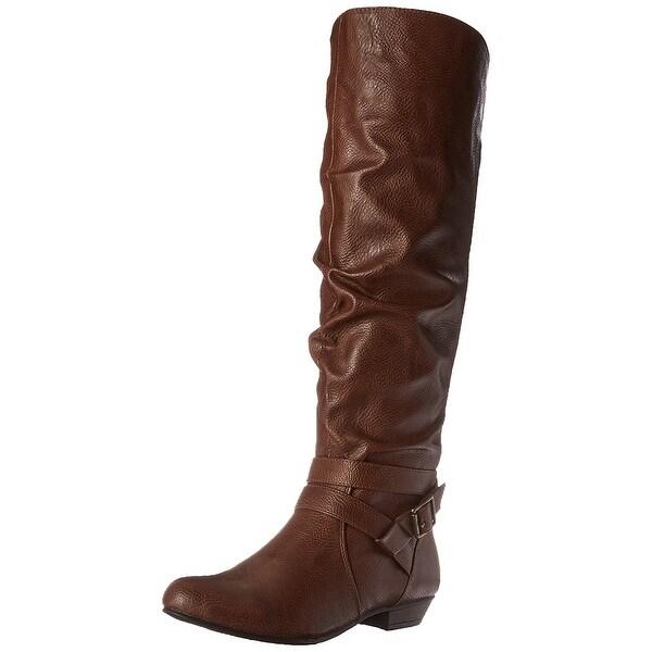 Fergalicious Womens LARA Closed Toe Knee High Rainboots