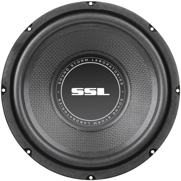 "Soundstorm Ss8 Ss Series High-Power Single 4Ohm Voice-Coil Subwoofer With Poly-Injection Cone (8"", 400 Watts)"