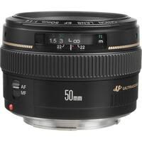 Canon EF 50mm f/1.4 USM Lens (International Model)