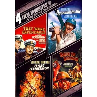 4 Film Favorites: John Wayne War - DVD
