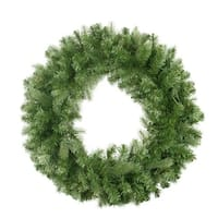 "30"" Noble Fir Artificial Christmas Wreath - Unlit"