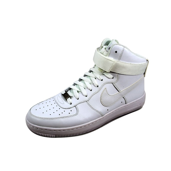 Nike Women's Air Force 1 Ultra Force Mid ESS White/White-Wolf Grey 749535-100