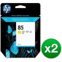 HP 85 69-ml Yellow DesignJet Ink Cartridge (C9427A) (2-Pack)