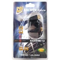 12 ft. High Definition HDMI Cable, Gold