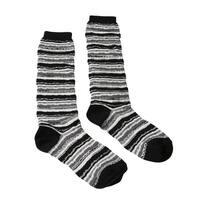 Missoni GM00CMD5221 0005 Gray/Black Knee Length Socks - Grey