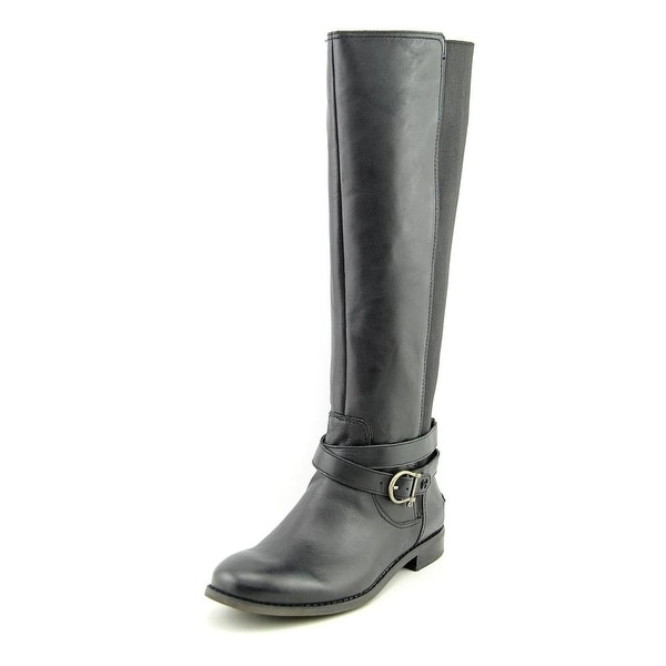 Sperry Top Sider Cedar Round Toe Leather Knee High Boot