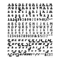 Funkadelic Font New Slice Elite Machine Digital Design Card Making Memories