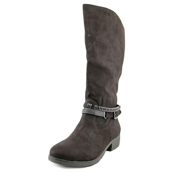 Style & Co Ward Wide Calf Round Toe Synthetic Knee High Boot