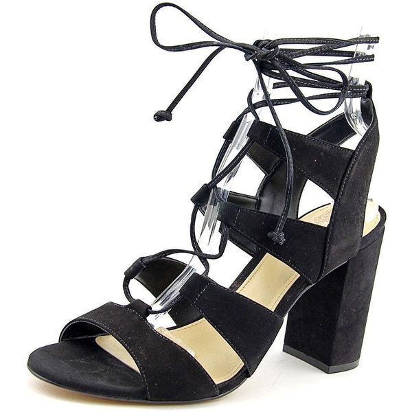Vince Camuto Womens WINOLA Leather Open Toe Casual Strappy Sandals