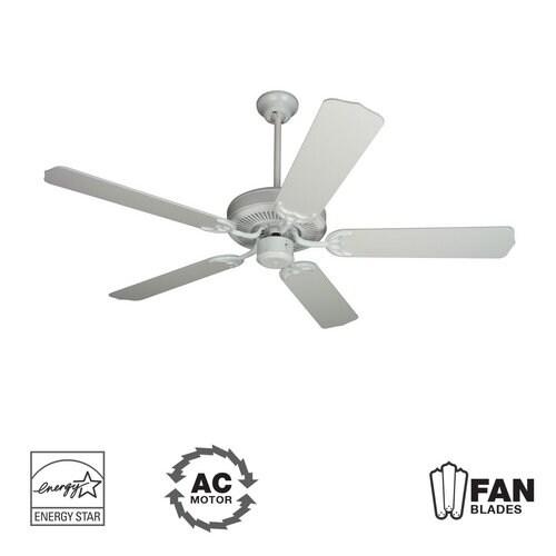 "Craftmade K10621 Contractor's Design 52"" 5 Blade Energy Star Indoor Ceiling Fan - Blades Included"