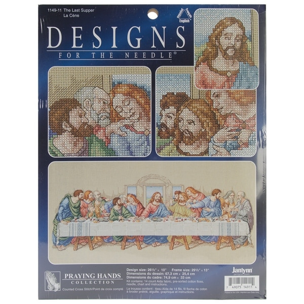 The Last Supper Counted Cross Stitch Kit