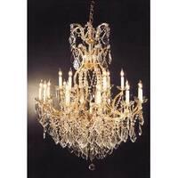 Swarovski Elements Crystal Trimmed Crystal Chandelier Lighting