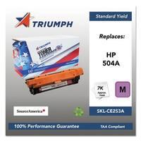 Triumph Remanufactured 504A Toner Cartridge - Magenta Toner Catridge