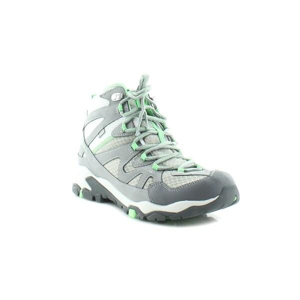Merrell Tahr Mid WTPF Women's Boots Wild Dove/S.Green - 5