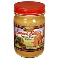 Cream-Nut and Sweet Ella's Organic Peanut Butter - Smooth - Case of 12 - 13 oz.