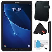 "Samsung 10.1"" Galaxy Tab A T580 16GB Tablet (Wi-Fi Only) SM-T580NZKAXAR + Universal Stylus for Tablets Bundle"
