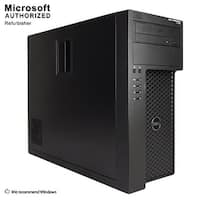 Dell Precision T1700 TW Intel i7-4770 3.4G, 16G RAM, 360G SSD + 2T HDD Radeon 4650, DVD, WIFI, BT 4.0, DVI DP, WIN10P64(EN/ES)