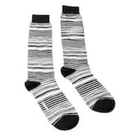 Missoni GM00CMU4658 0003 Gray/Black Knee Length Socks - Grey