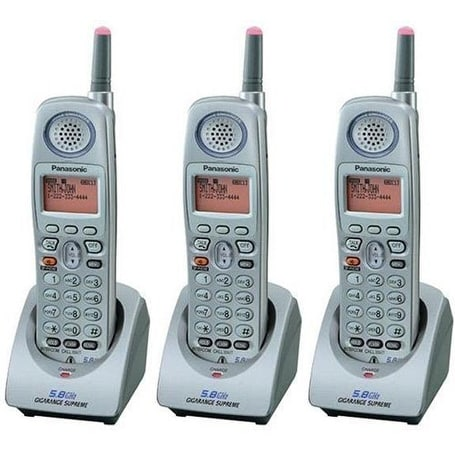 """""""KX-TGA520M (3 Pack) 5.8GHz Cordless Extra Handset or Charger"""""""