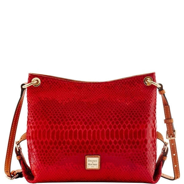 Dooney & Bourke Snake Frederica Bag (Introduced by Dooney & Bourke at $248 in Jul 2016) - Red