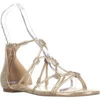 Ivanka Trump Chaley2 Glitter Sandals, Gold