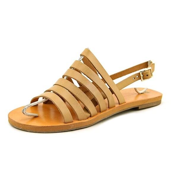 BC Footwear Teacup Women Open-Toe Leather Slingback Sandal